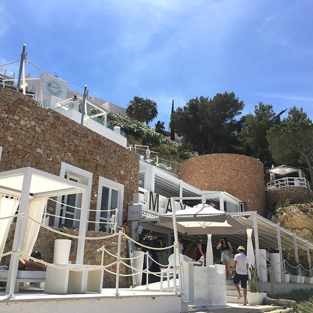 Happy Saturday from the White Isle! • #mayabeachclubibiza #ibiza #ibiza2018 #eivissa #calavadella