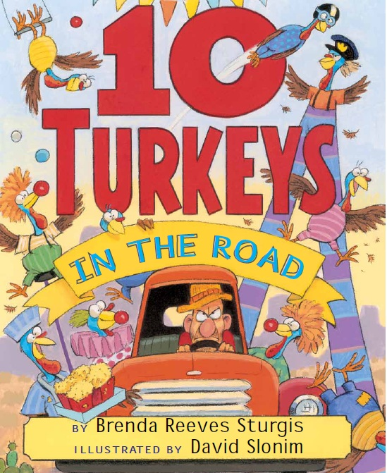 10 Turkeys in the Road