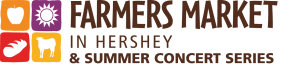 Farmer's Market in Hershey - Thursdays 2:30-6:30 (from May –October)