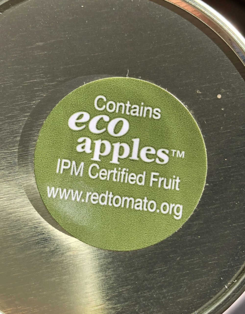 Made with Safe Eco-Apples!