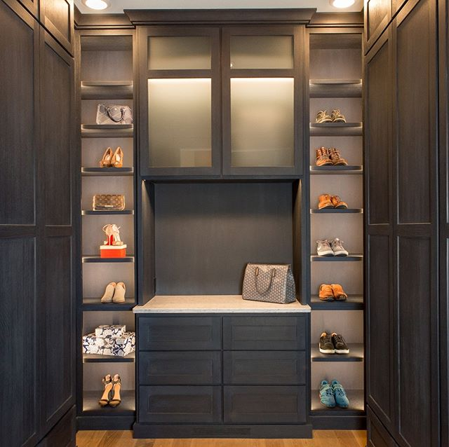 Master closet design and build.