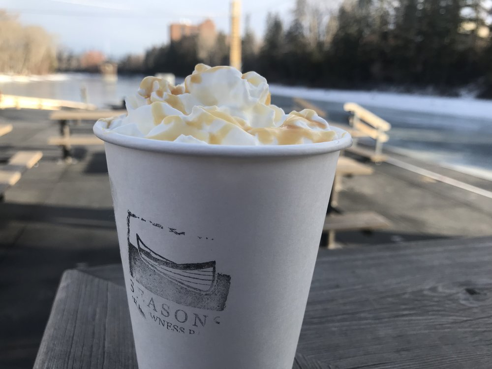 Reese's Pieces Hot Chocolate -