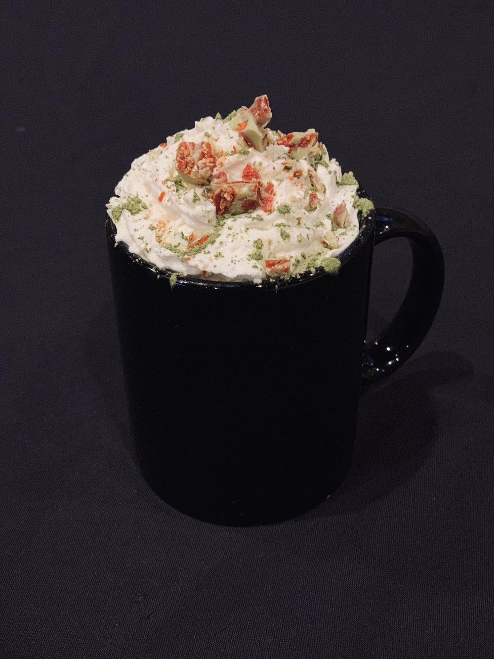 Goji Matcha Hot Chocolate -