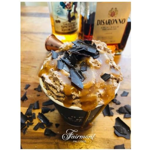 Salted Caramel Hot Chocolate -