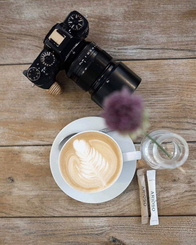 Does your coffee break look as awesome as @borisbaldinger 's?  By the way, the grips fit the Fujifilm X-T2 and the X-T3!