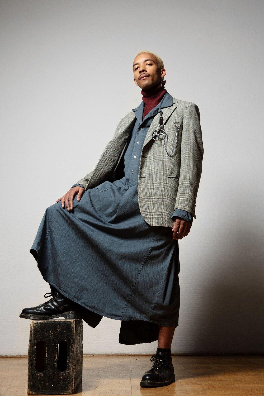 Special Franklin Dress model :@twogospels (Noah)  photo: _nti_ ( Thom nti)  stylist: lawrie_abei (lawrie)