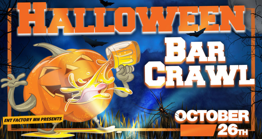 Halloween Bar Crawl