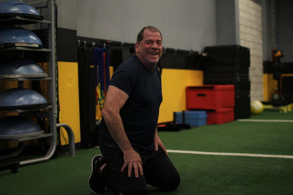 training should be fun -