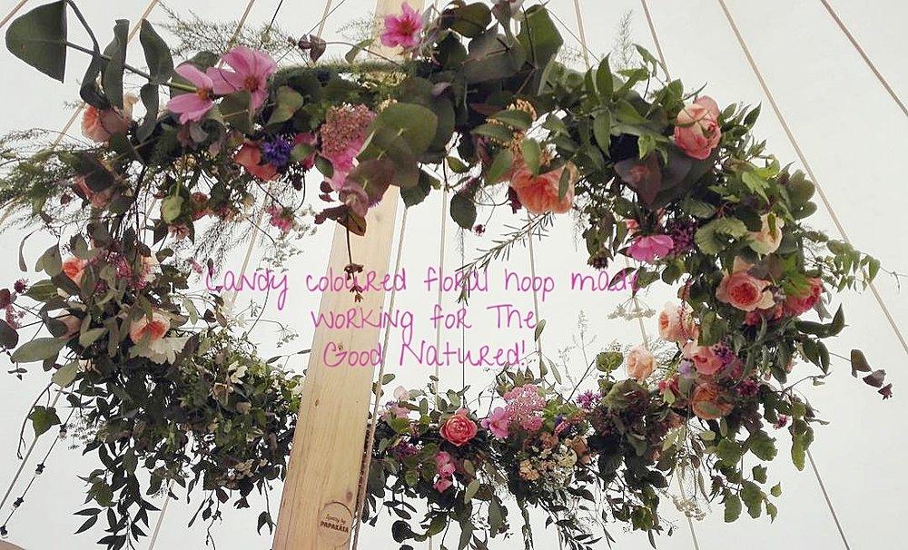 Freelance work for a fellow florist Suzie Winsor
