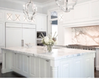 1. The Resurgence of Marble - While this may not be a new trend, marble has recently revamped its popularity, especially this year! Everyone is going crazy by using marble EVERYWHERE. From phone cases to kitchen counters, the marble craze is real! Try this trend in your next renovation or simply incorporate the look with pillows or comforters!