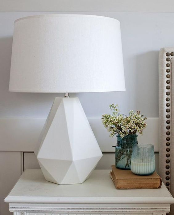 Lighting - You may not like the light fixtures in your rental home, but these can be changed! Pick lighting that is cohesive with the feel of the room and change out the current lighting. Just don't forget to change them back before moving out! If you don't want that hassle, bring in your own lamps and lighting to add to the existing light fixtures.