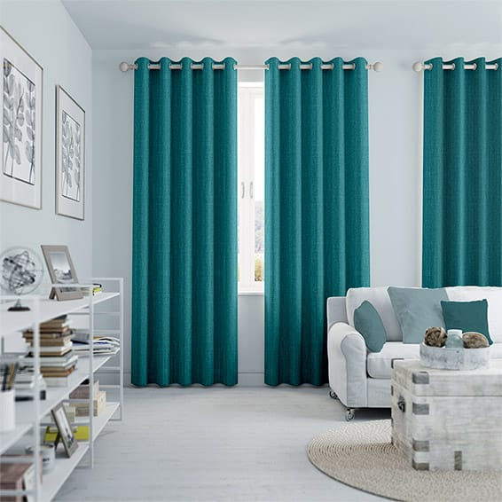 Curtains - If you're not loving the basic, cheap blinds that came with your rental, spruce up your home with curtains or drapes! Bring any colors, patterns, or textures you want into any room, without a hassle.