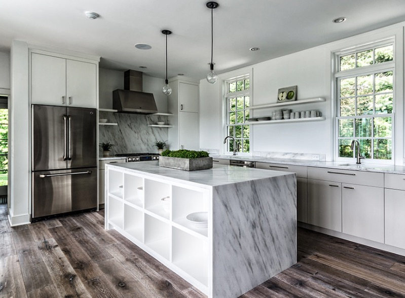 2. Update flooring - If you're content with your countertops and cabinetry, maybe all your kitchen needs is shiny new floors!Update the flooring in your kitchen to give the space a modern and contemporary feel!