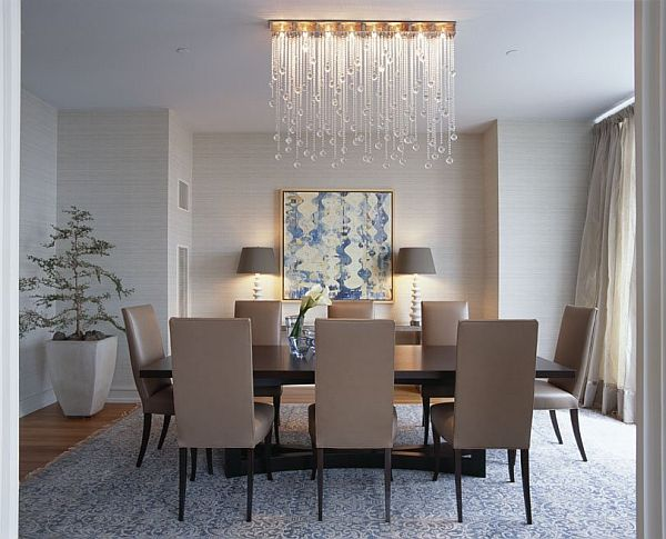 4. Lighting - Lighting sets the mood, and your guests will surely be aware of the mood your lighting gives off.Harsh or bright lighting can have a negative effect on your house guests, so opt for lighting that is more gentle and calming.Try a modern or eclectic light fixture to add wow factor to your home!