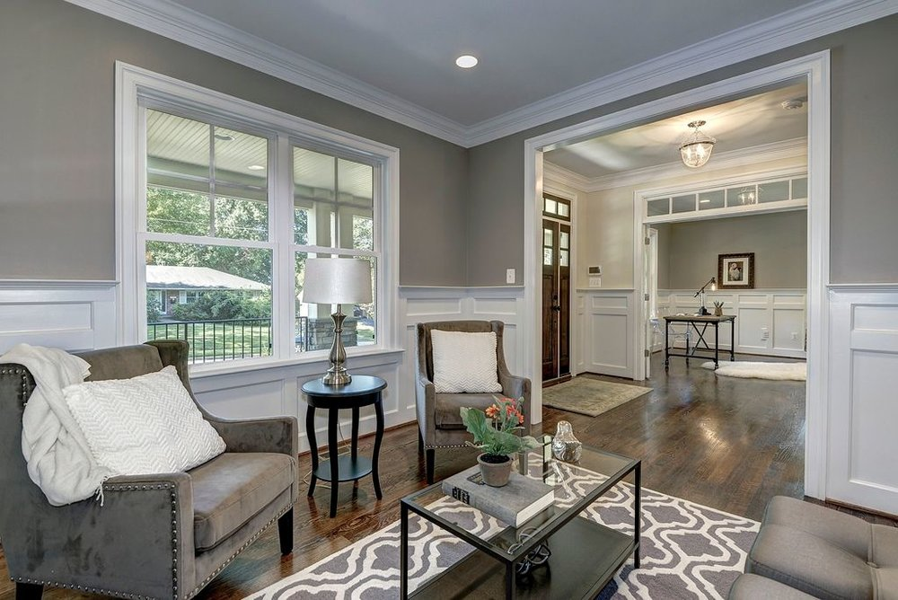 4. Add molding - A super easy way to make a space more elegant and luxurious is to add quality molding.We recommend the addition of crown molding as a way to update your home without making too big of changes.Your guests will surely be impressed with the details of your new molding!