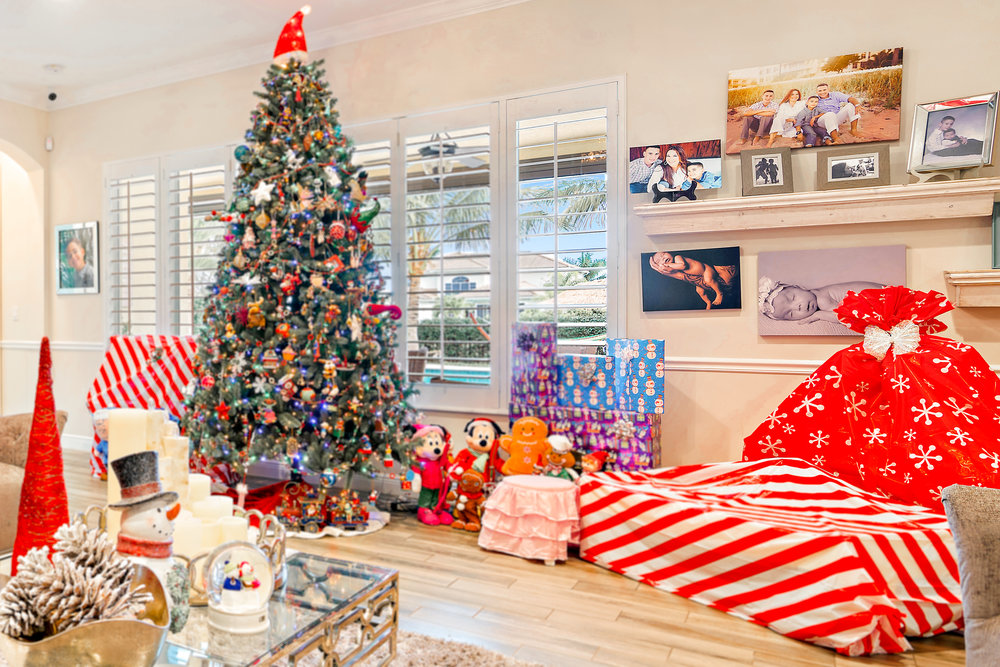 """4. What is your favorite Holiday decoration? - """"Family is at the center of everything for us, so much so that we even created a business based around families"""" . -Larissa."""