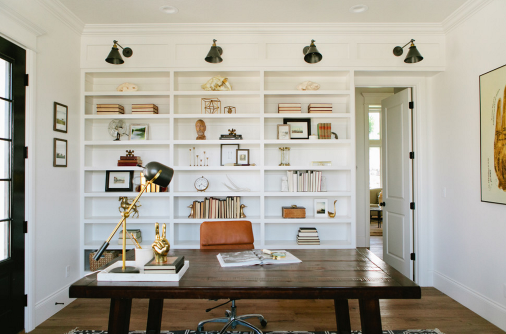 6. Finish with your home office. - We know you have stacks of bills and papers that need to be gone through! 2019 is your year to finally organize your home office space.