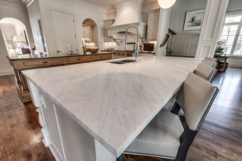 2. Quartz Countertops. - Quartz countertops have been on the rise for years now and it's for great reasons! Quartz is AMAZING because it's durable, uniform, and nonporous!