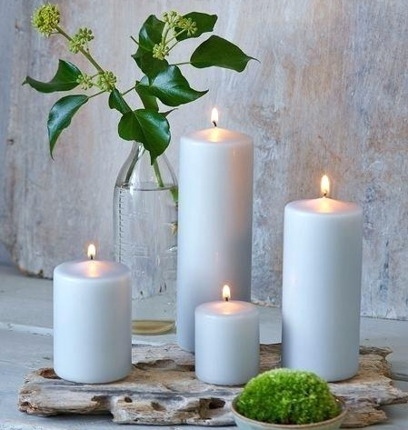 4. Scented Candles - This next one can do wonders for just about any space in your home. If you are trying to achieve relaxing and homey vibes, you have to have scented candles! Place a few on your vanity in your guest bathroom and light them before guests arrive.image via anygoodscomparison.info