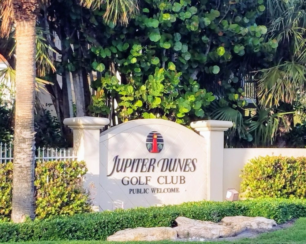 """3. Jupiter Dunes - Where else can you walk in the sea air, play an affordable 18 holes in two and a half hours, learn without frustration (or improve the most important part of the game), and be welcomed warmly no matter what stage of your golf """"life"""" you're at? No where else.Jupiter Dunes Golf Club is a little gem by the ocean. It's a true haven for golf lovers and newcomers alike. Situated by the ocean on one of Jupiters natural estuary's, the course was designed to replicate what you would find for a second shot on a regulation length course."""