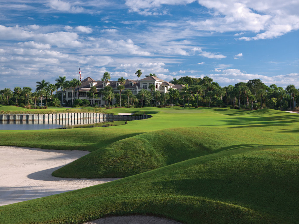 3. Loxahatchee Club - The Loxahatchee Club, located just north of Palm Beach in Jupiter, Florida was created out of a love of the game of golf following in the tradition of the finest clubs in North America. The Signature Jack Nicklaus designed golf course is the centerpiece of its residential community with 285 homes set on 340 acres with over 71 acres of fresh water lakes and 40 acres of greenbelt. The club and community offer an intimate environment of casual elegance, uncompromising quality and unparalleled personal service, which is not only reflected in the golf experience but throughout the Activities Center, dining facilities, and custom services.
