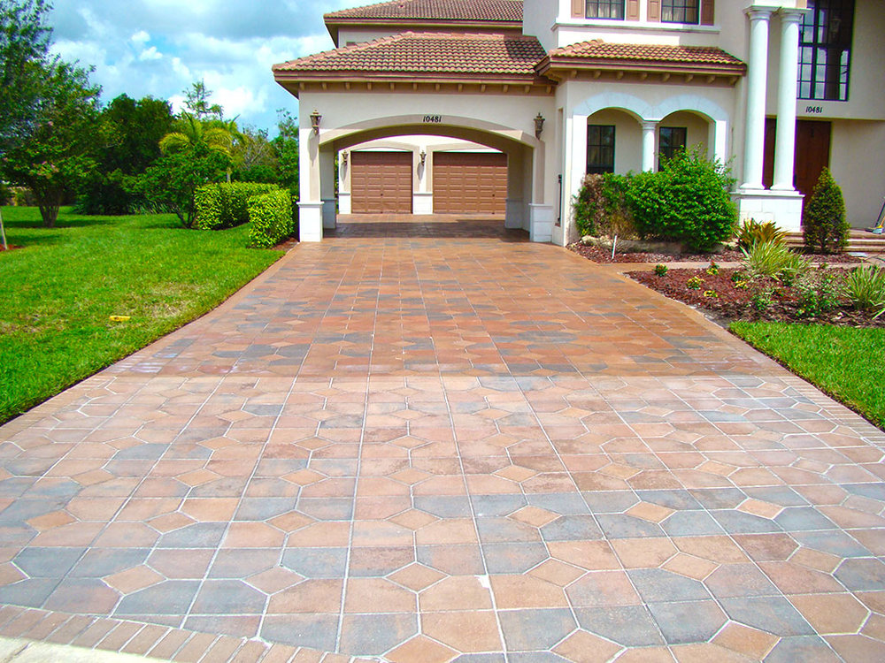 2. Seal your pavers. - This is an obnoxious chore because let's face it, nothing is sexy about sealed pavers, however sealed pavers have tons of wallet padding benefits from preventing the sand under your driveway or pool deck from shifting and mold growth away, to keeping their vibrant new-ish look intact.