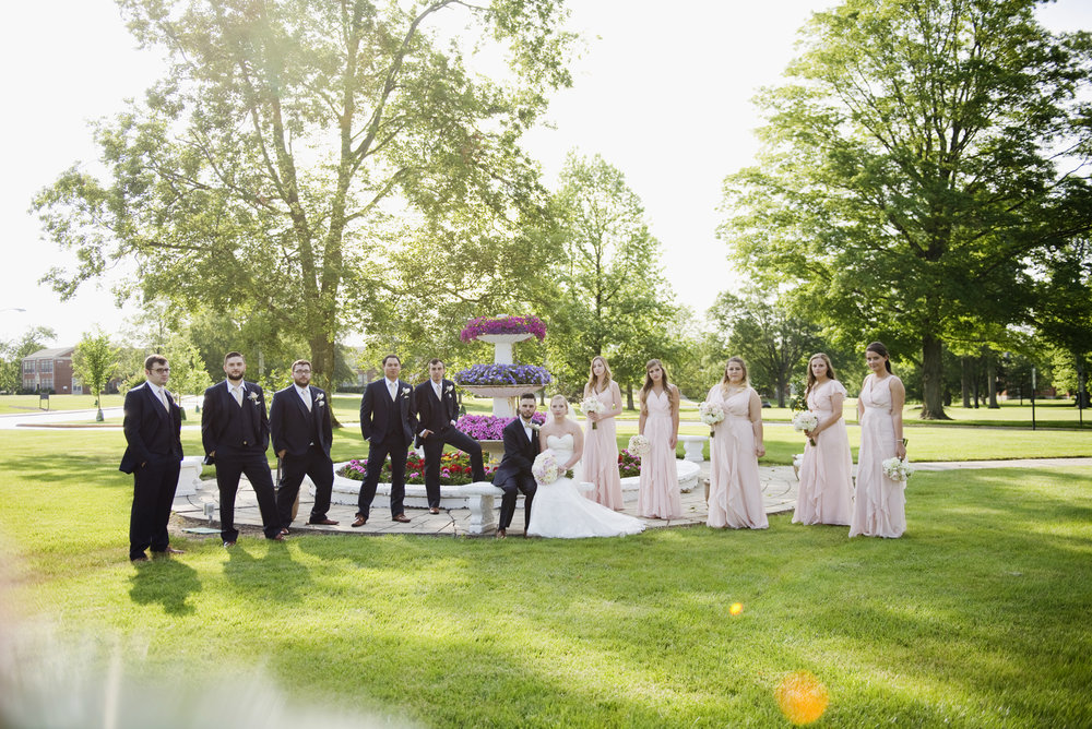 Wedding Party Formal Photography