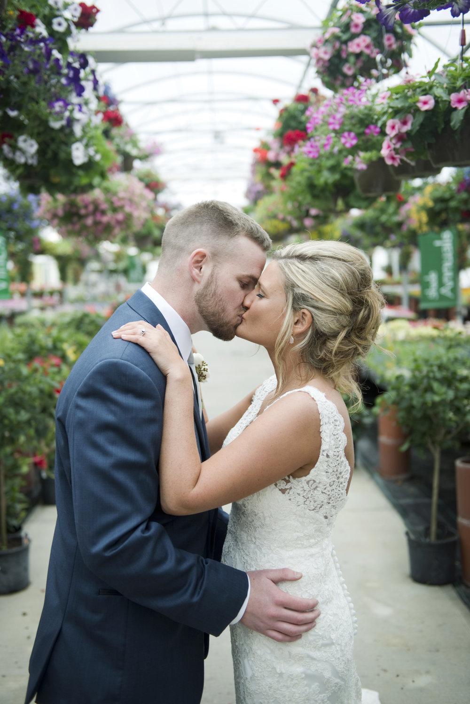 Flower Nursery Wedding Photography