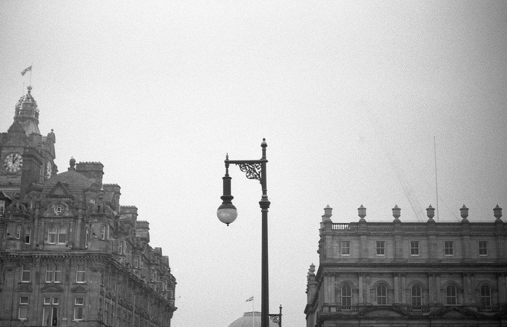 Edinburgh, Nikon F3, JCH Streetpan 400