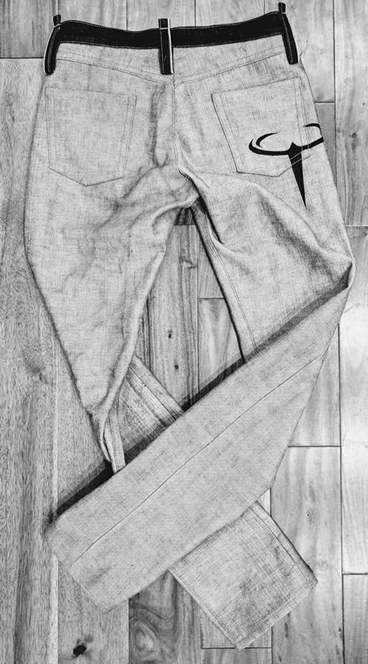 Reverse Denim Jeans