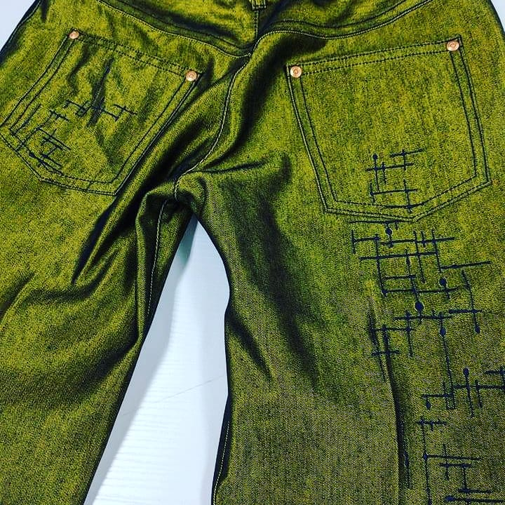 Kangaroo Pocket Jeans