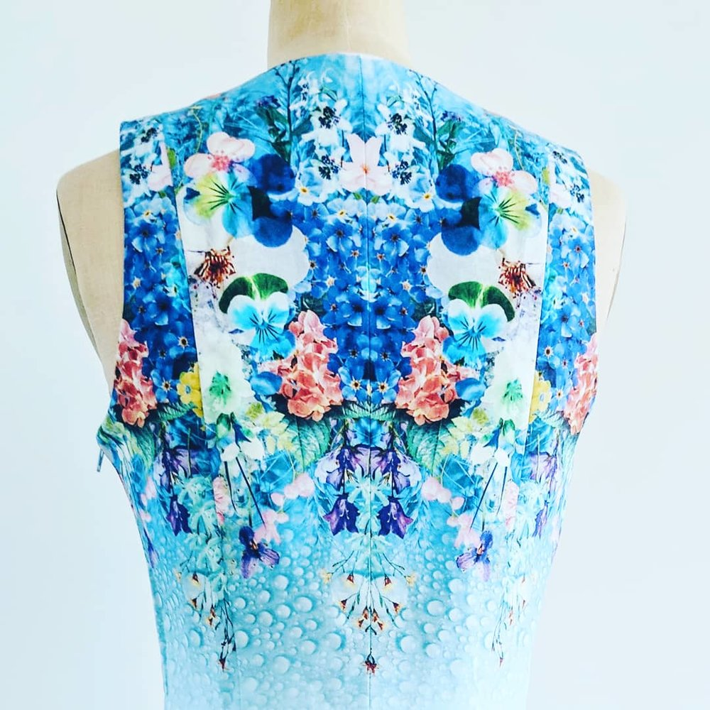 Kaleidoscopic Day Dress