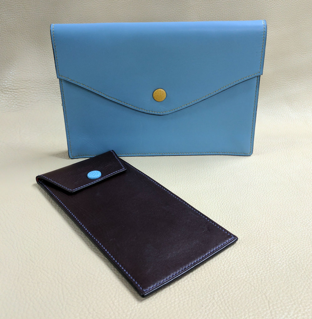Glass Case & iPad Wallet