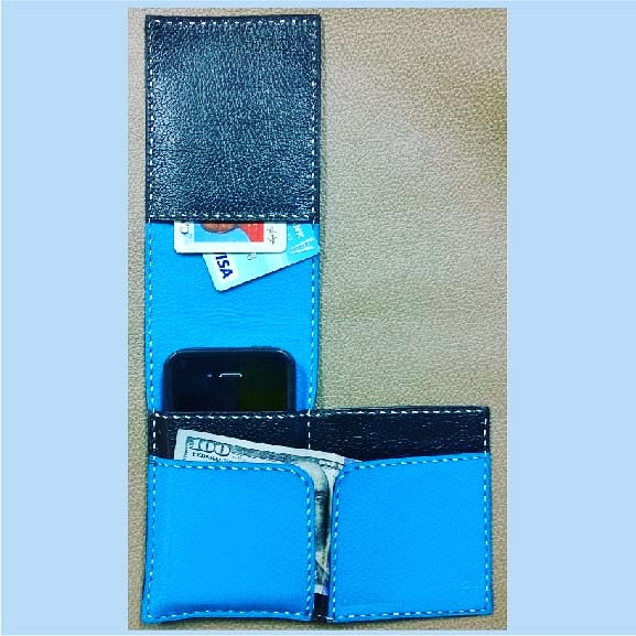 Card, Phone & Money Wallet