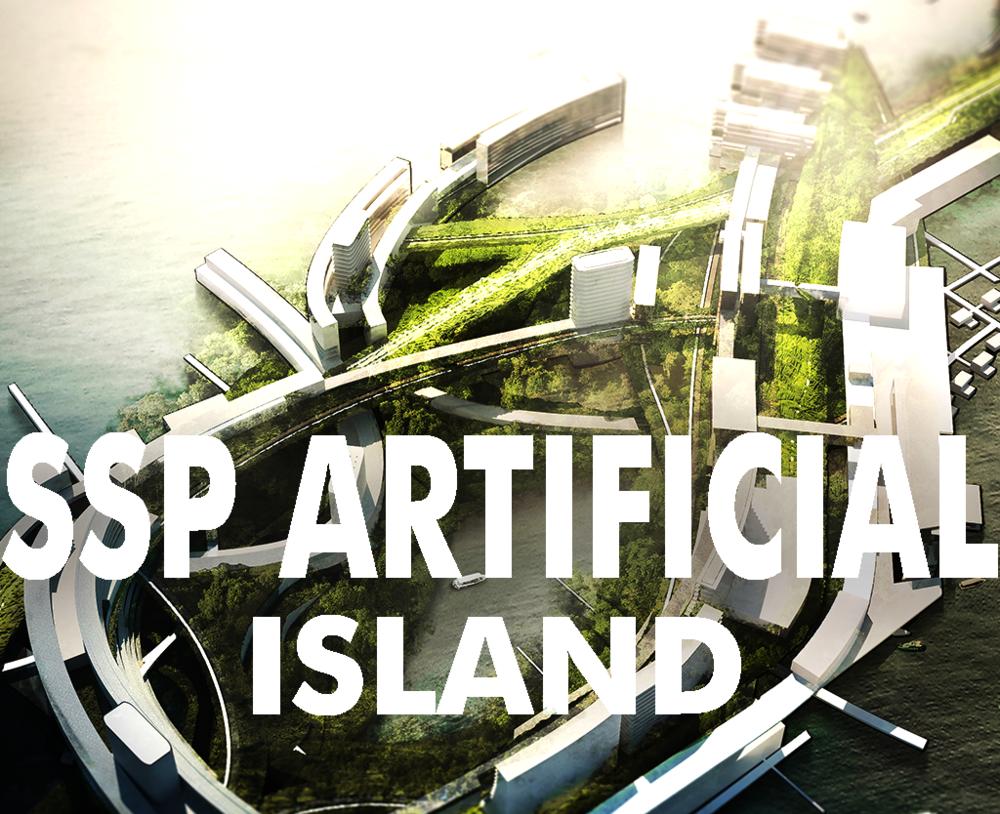 South Sea Pearl Artificial Island