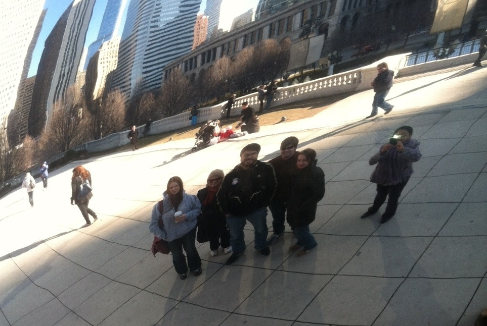 Schlenke Lab at the Chicago Bean at Drosophila Conference