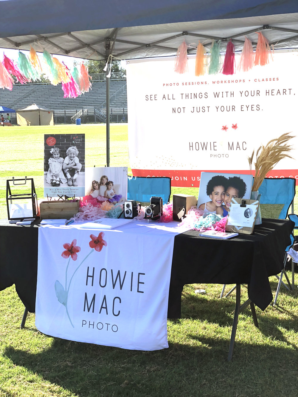 - Community is at the heart of what we do, so naturally being a part of the Bloomingdale Fall Festival was super fun for our Howie Mac family! We enjoyed talking with so many fun families and seeing the creative costumes this year!