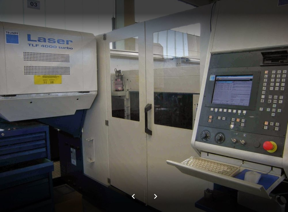Laseranlage Trumpf L 3030 -