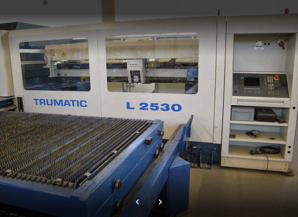 Laseranlage Trumpf L 2530 -