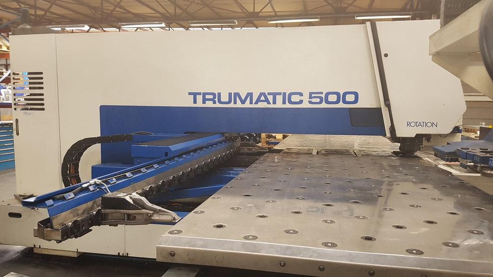 Stanz- Nibbelanlage Trumpf TR 500 -