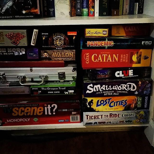 Board games are dope too