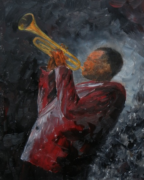 Hitting the High Notes  | Oil |  $300