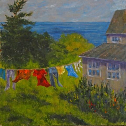 Laundry Day  | Oil |  $450