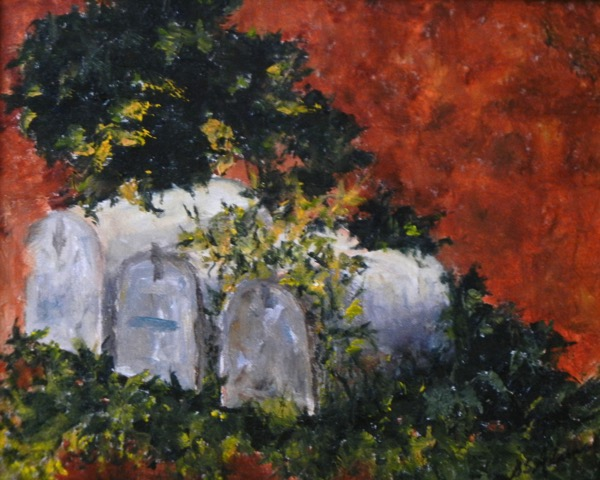 One, Two, Three  | Oil |  $250