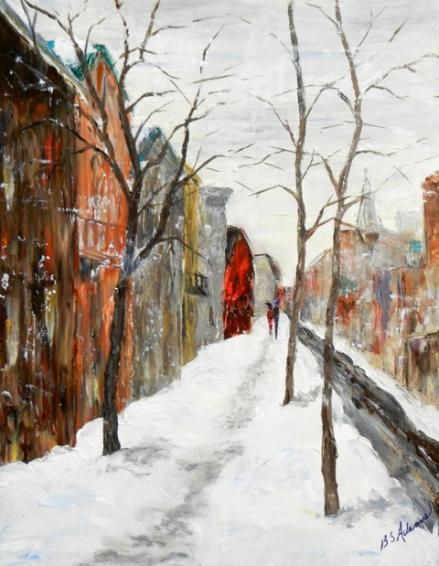 A Winter Morning  | Oil |  $400