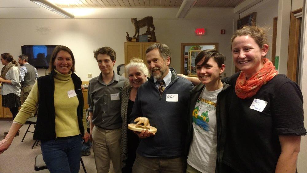 2018 Eberhard Thiele Environmental Educator Award: Pat Parent