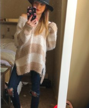 Nordstrom Eyelash Chenille Sweater