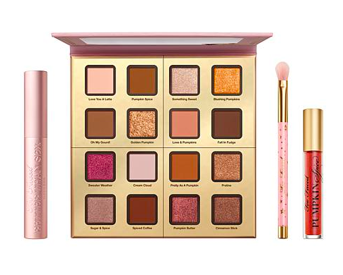 Too Faced Pumpkin Spice Palette Collection. Everything above is included for $49 shipped!