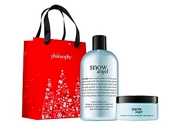 Up to 40% off Philosophy products- these make GREAAAT gifts! I LOVE LOVE LOVE this brand.   Use code:  ZUBRAD8875  to get the deal :)