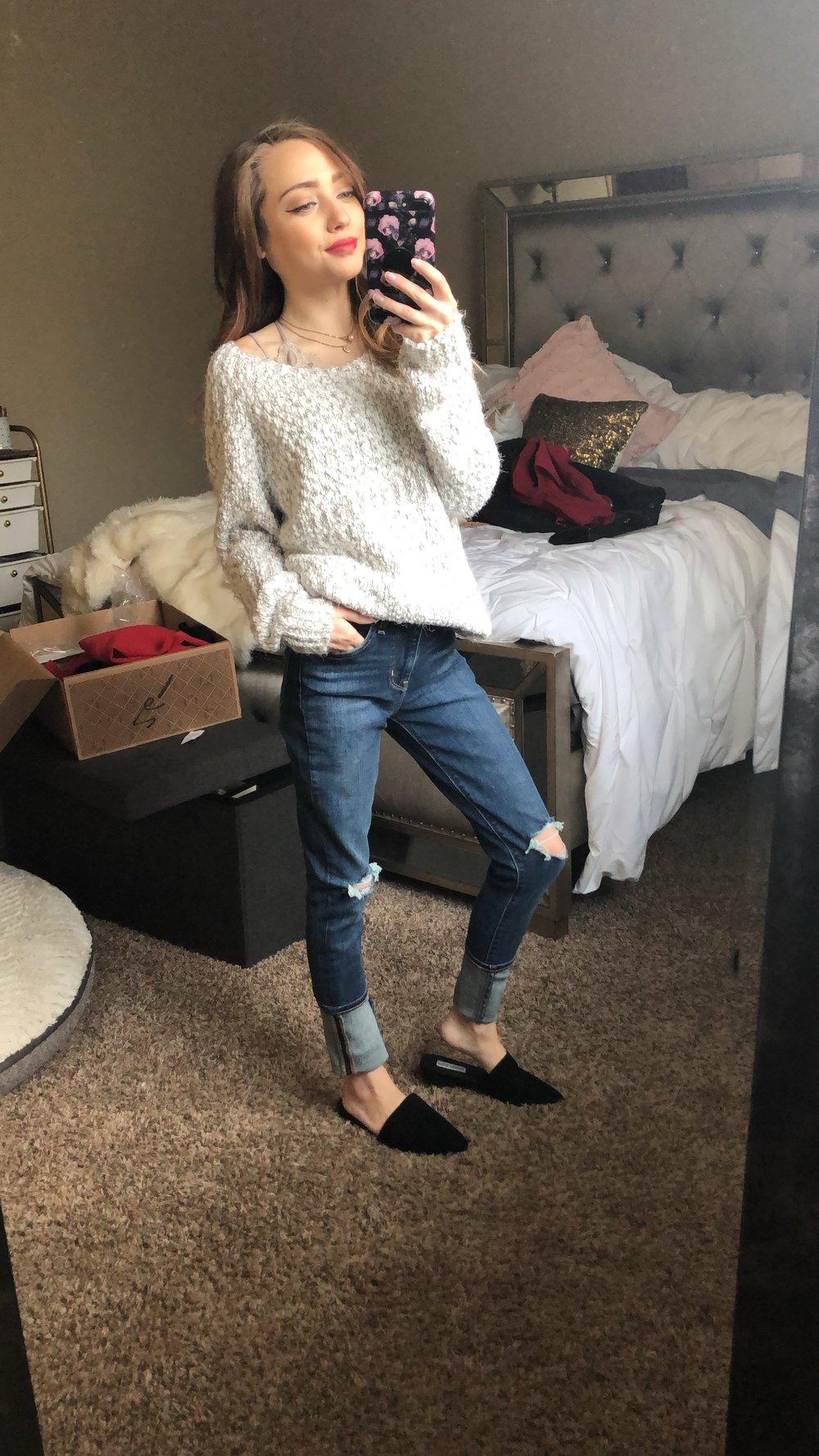 jeans  //  flats
